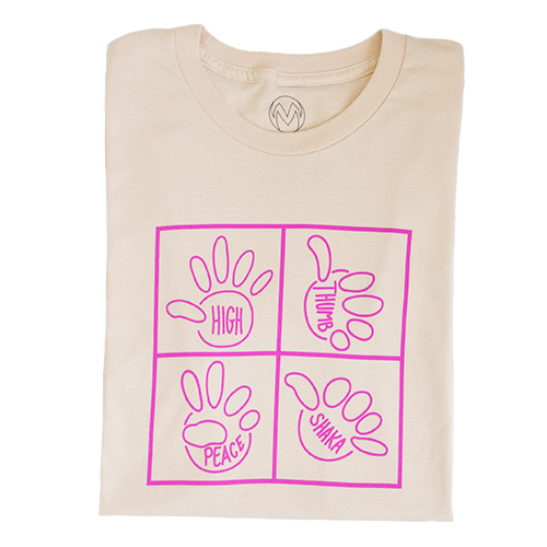 Different Hands Shirt from The TMW Collective