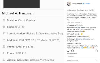 XXXTentacion 7 New Charges Michael A. Hanzman Jahseh Onfroy