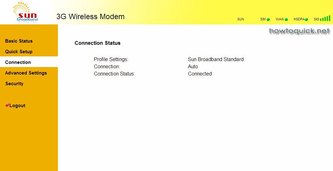 Setup Sun Cellular Pocket WiFi Huawei E5832 Broadband and