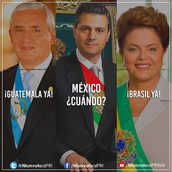 'Si Guatemala y Brasil pudieron destituir a su presidente ¿Por qué no vamos a poder nosotros?' Difunde!!