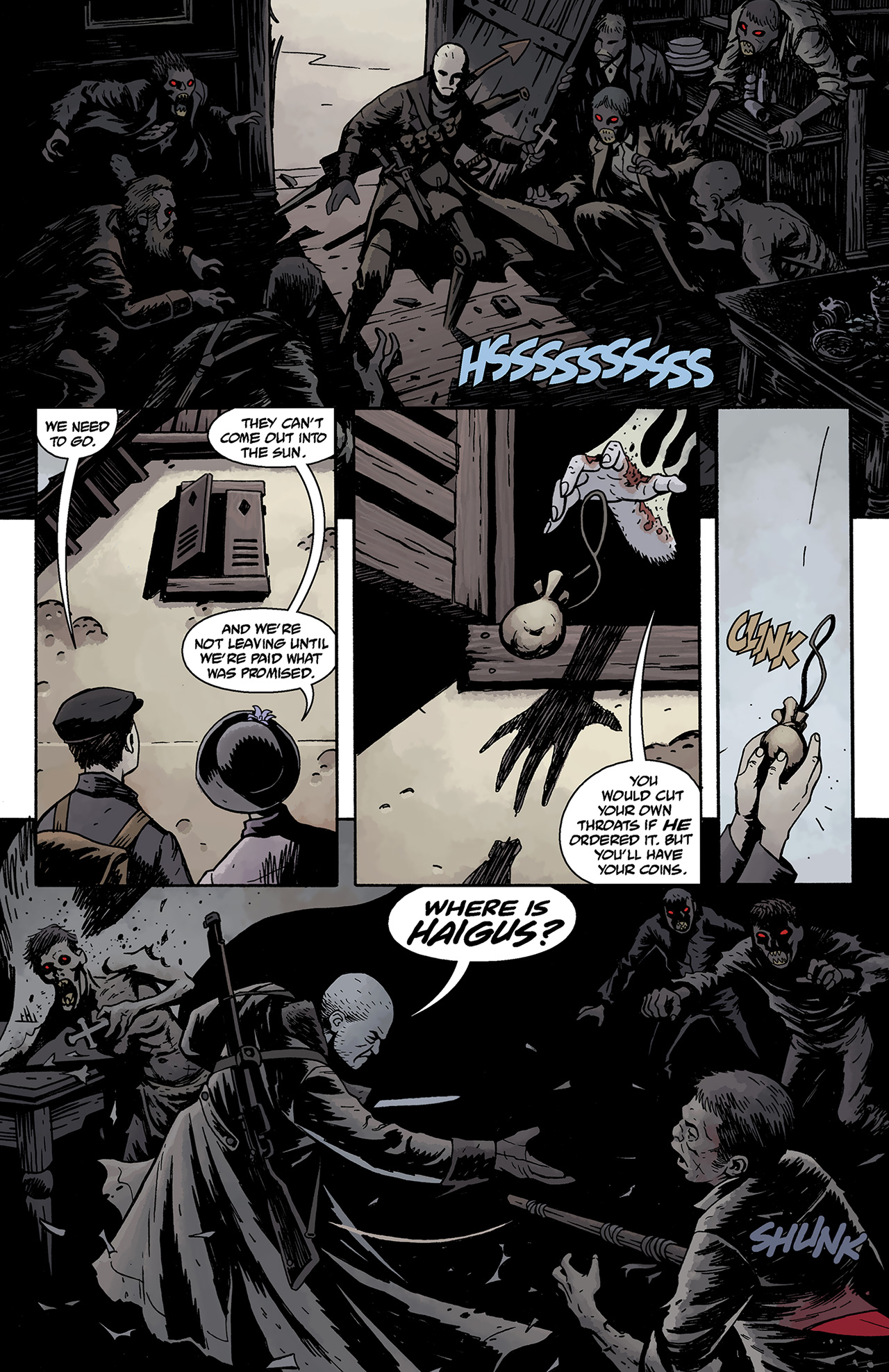Read online Baltimore: The Curse Bells comic -  Issue #1 - 9