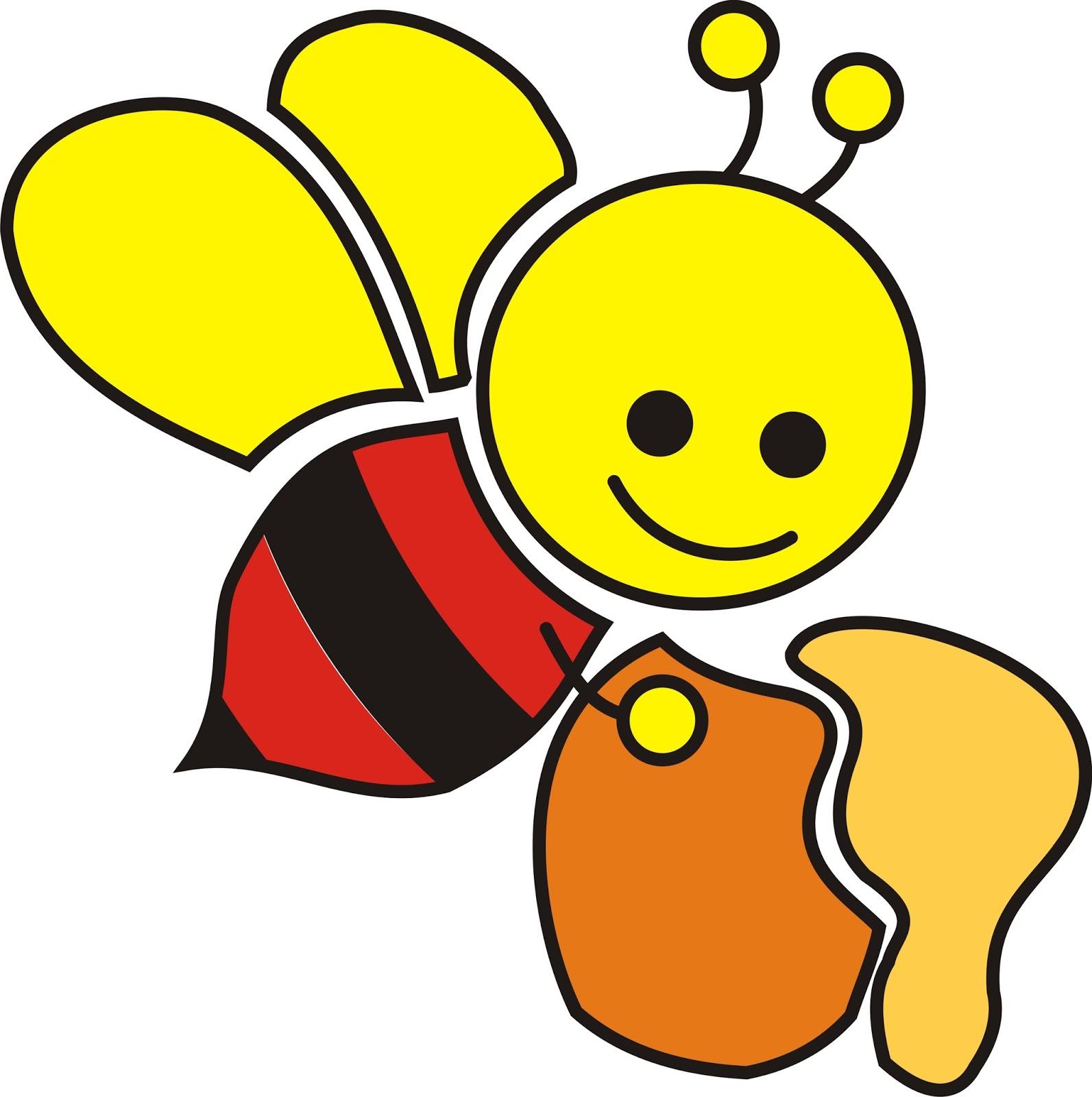 Top Gambar Kartun Lebah Marah Kolek Gambar