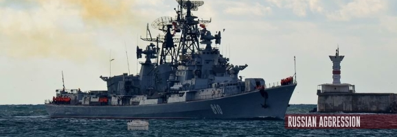 Russia staged another provocation in the Black Sea