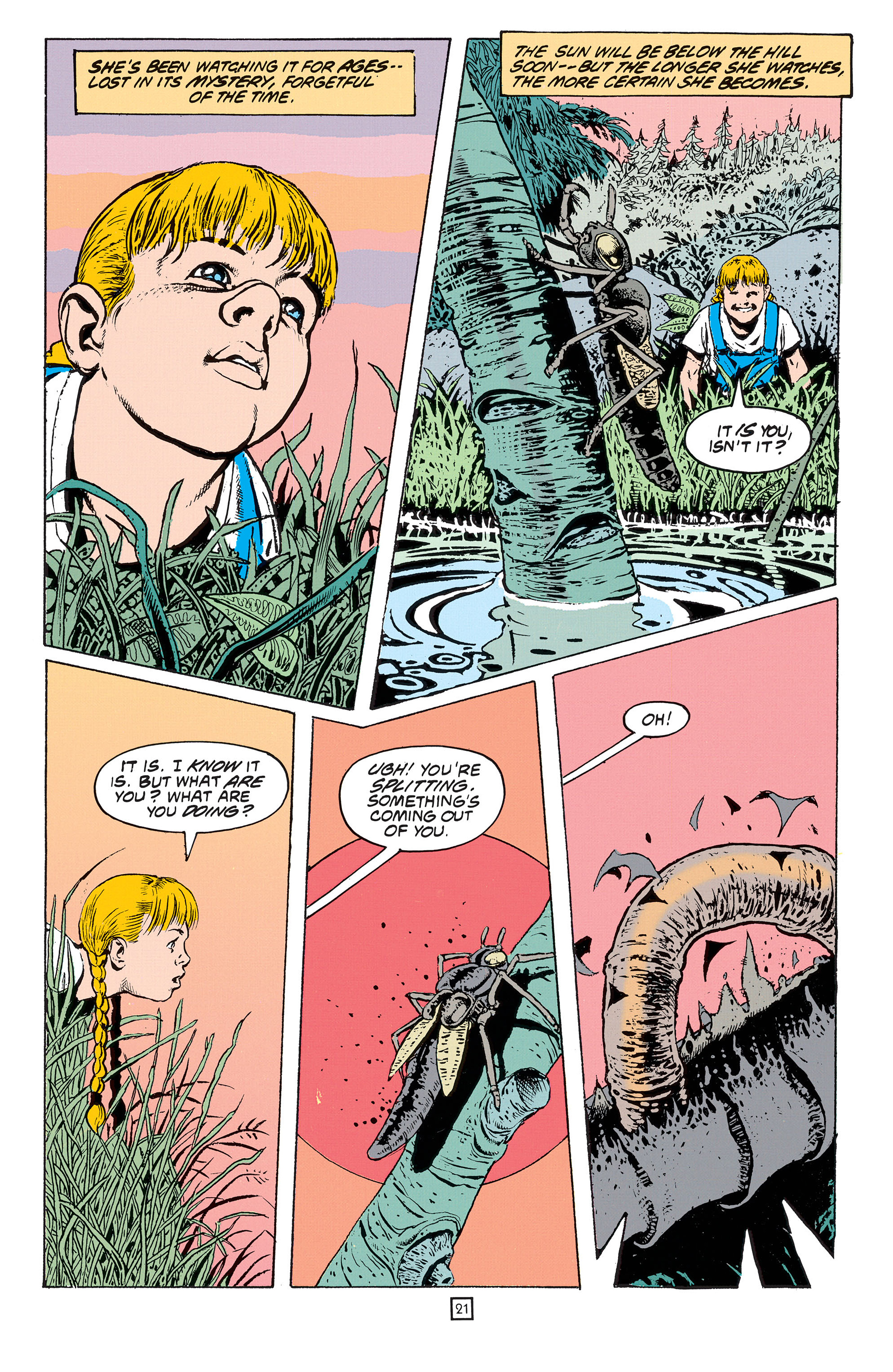 Read online Animal Man (1988) comic -  Issue #53 - 22