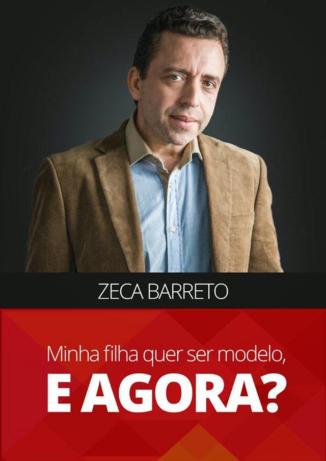 """Capa do e-book """"Minha filha quer ser modelo. E agora?"""", do scouter Zeca Barreto. Foto: Reprodução"""