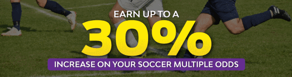 Hollywoodbets Soccer Multiple Bonus - Earn up to 30% increase on your soccer multiple odds