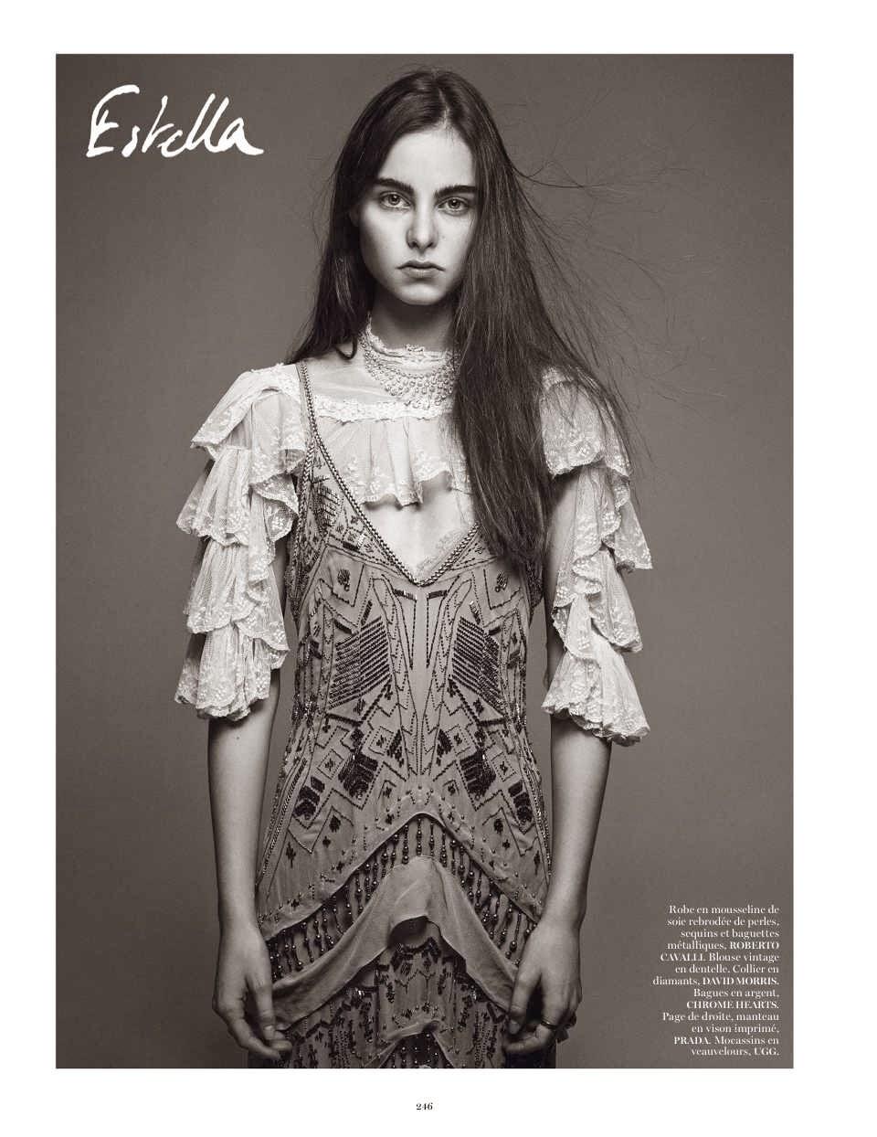100bc7d38e1 Estella Brons Paris Vogue - February 2014. Photographer - Mikael Jansson  Source - thefashionspot.com