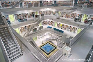 Magang di Perpustakaan