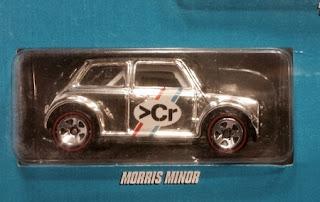 hot wheels super chromes morris mini