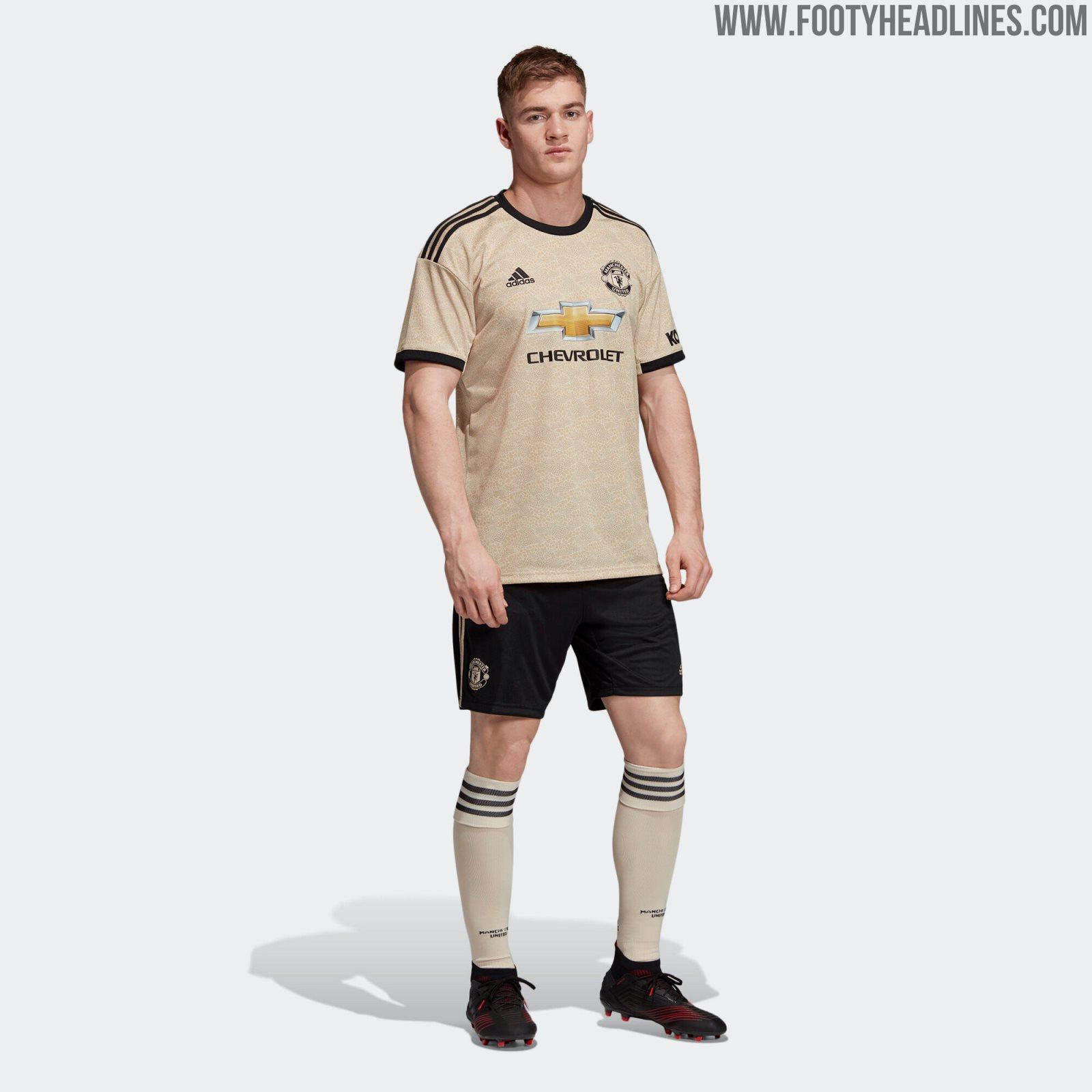 super popular 5228d e7dae Manchester United 19-20 Away Kit Released - Footy Headlines