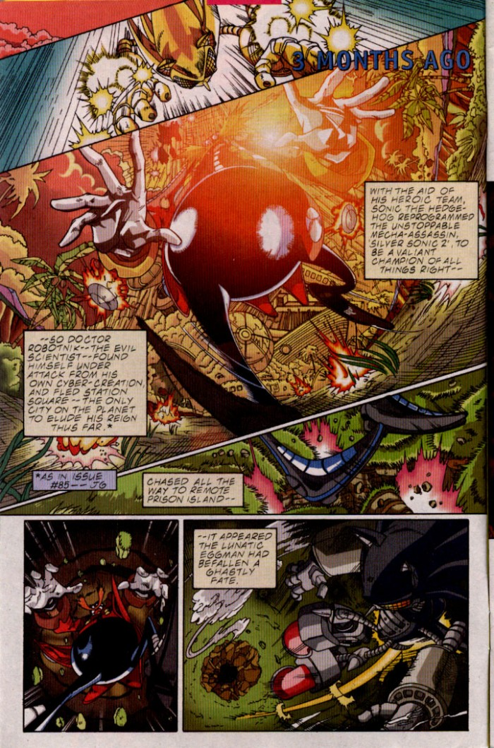 Read online Sonic The Hedgehog comic -  Issue #98 - 3