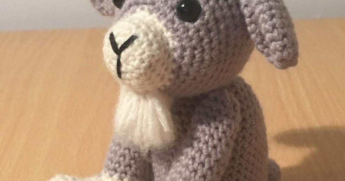 The Year of the Goat Amigurumi | Fat Face & Me | 630x1200