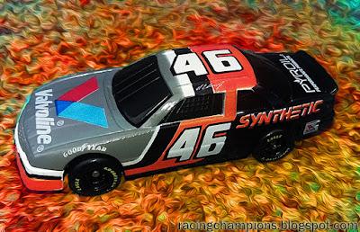 Al Unser Jr. #46 Valvoline Racing Champions 1/64 1993 Daytona 500 Chevy Blog NASCAR