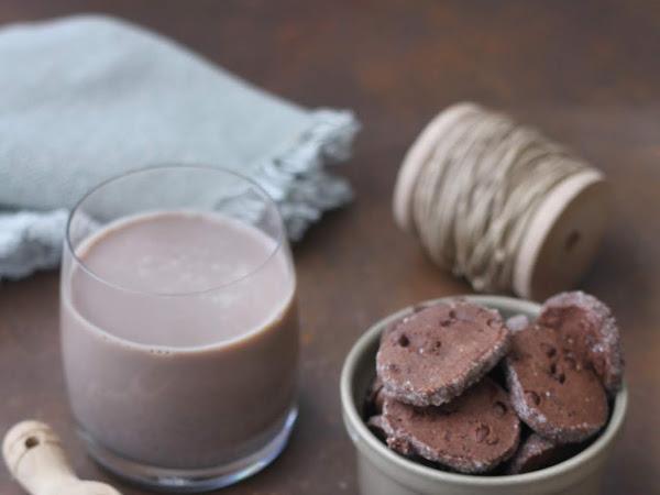 Biscotti al burro salato e cioccolato