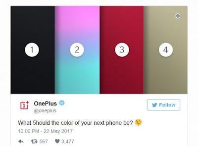 varian warna oneplus5