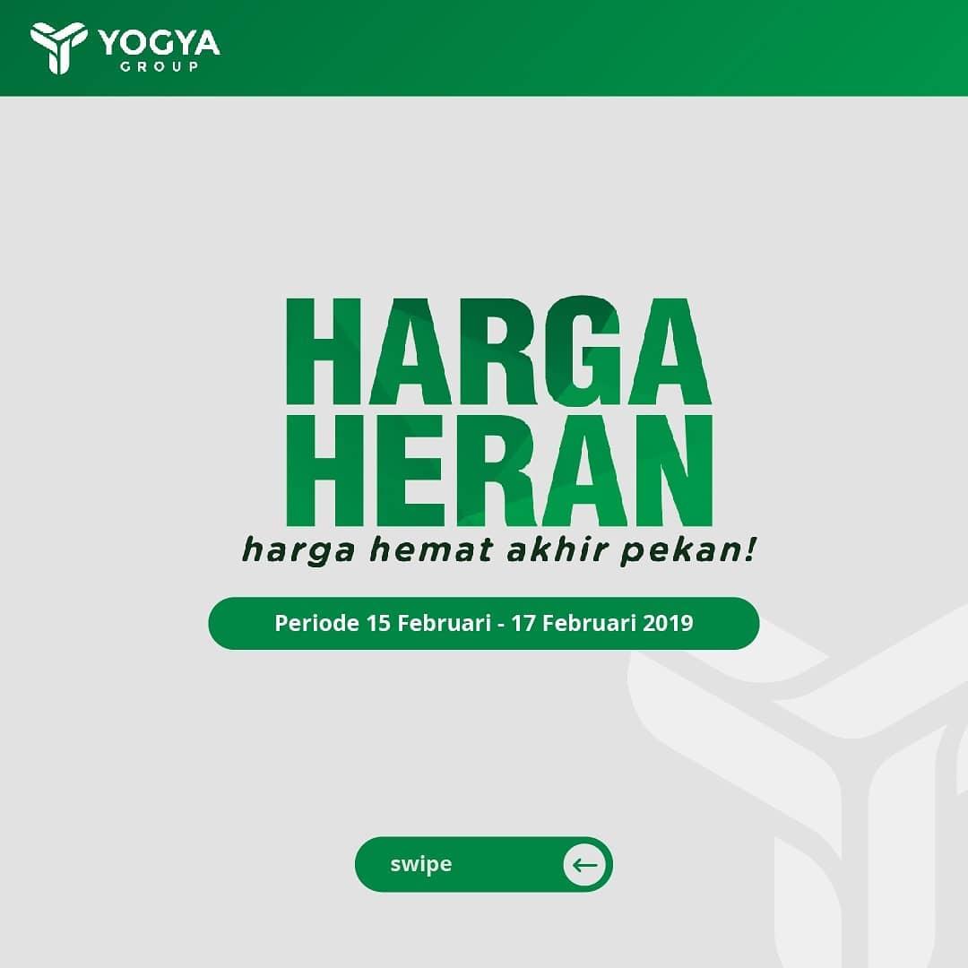#Yogya - #Promo #Katalog JSM Harga Heran Periode 15 - 17 Februari 2019