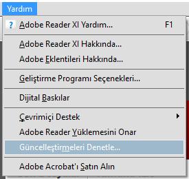 Adobe Reader Güncelleme Nasıl Yapılır?
