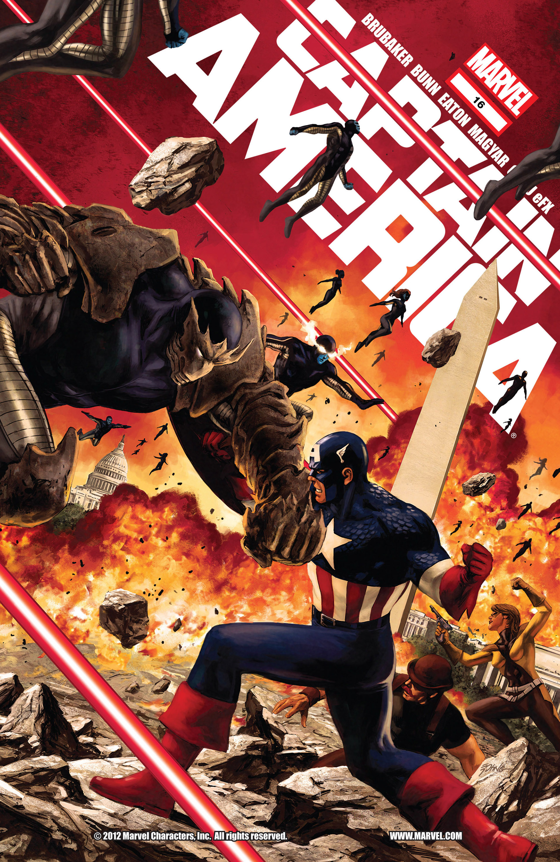 Captain America (2011) 16 Page 1