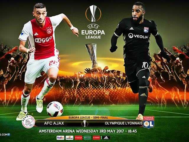 Ajax x Lyon (04/05/2017) - Horário e TV