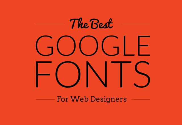 5 Font google yang bagus untuk font blog maupun web