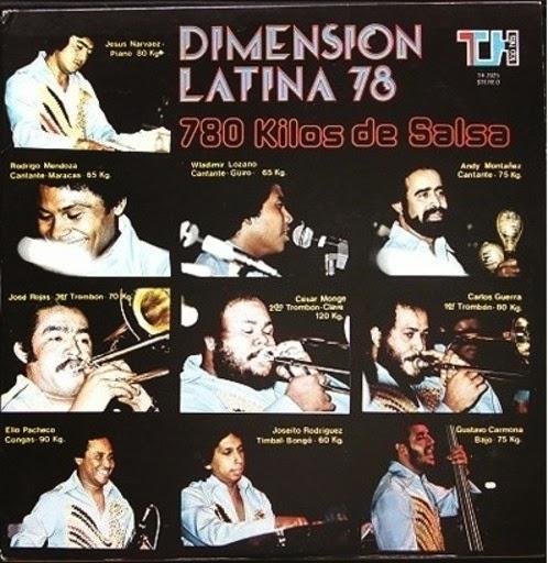 780 KILOS DE SALSA - DIMENSION LATINA (1977)