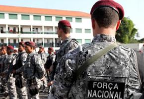 Força Nacional chega a Manaus para reforçar segurança nos presídios