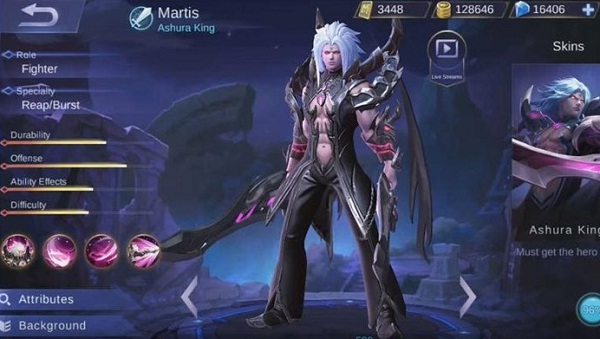 Hero Martis Mobile Legends