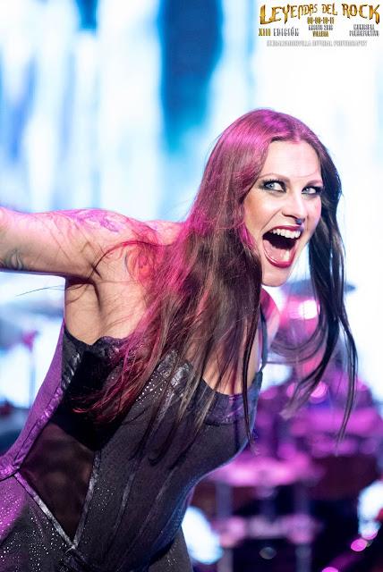 Floor Jansen - Nightwish en Leyendas del Rock 2018