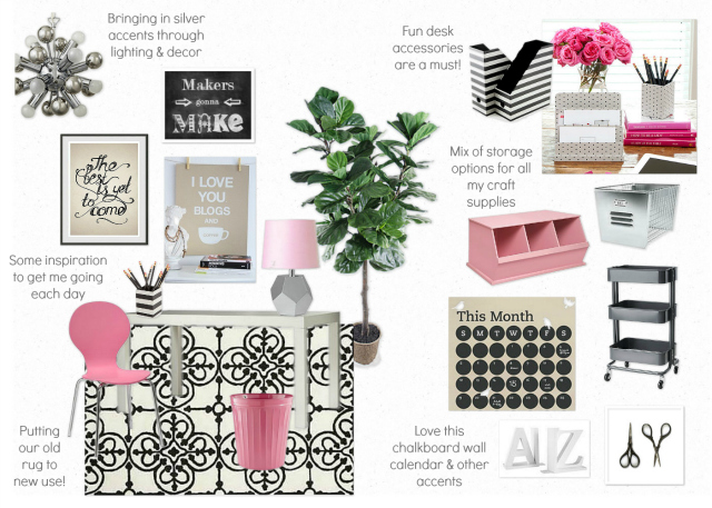 pink-and-black-office