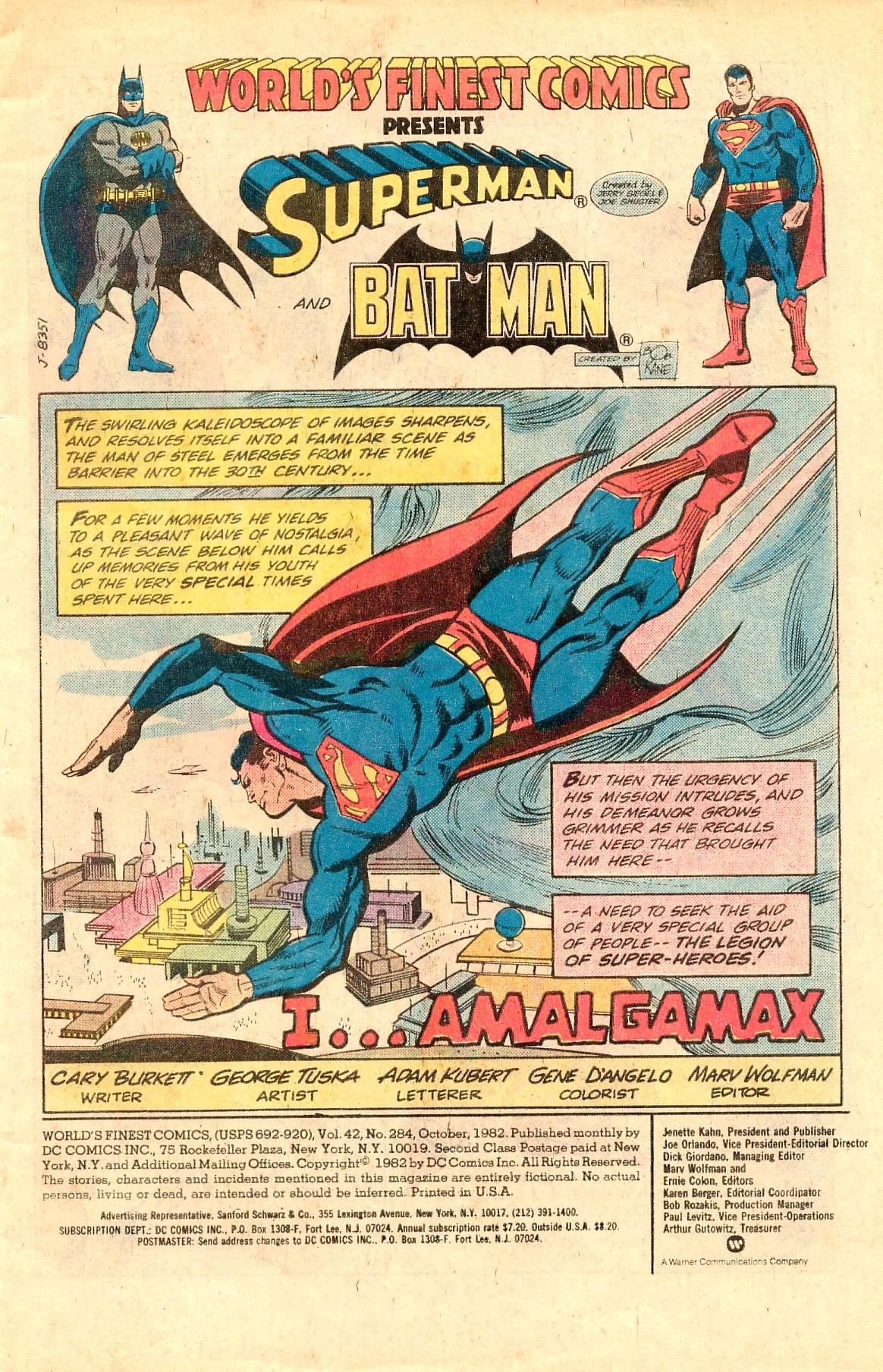 Read online World's Finest Comics comic -  Issue #284 - 3