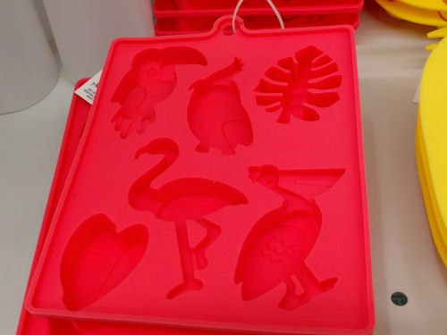 flamingo ice cube tray