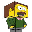 Ned Flanders | Paper Cube Club