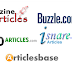 Top 50 High PR Article submission sites list 2016