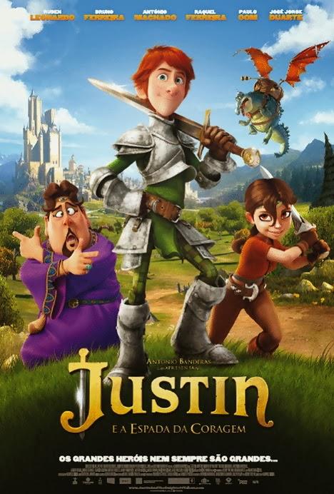 Justin e a Espada da Coragem - Dublado