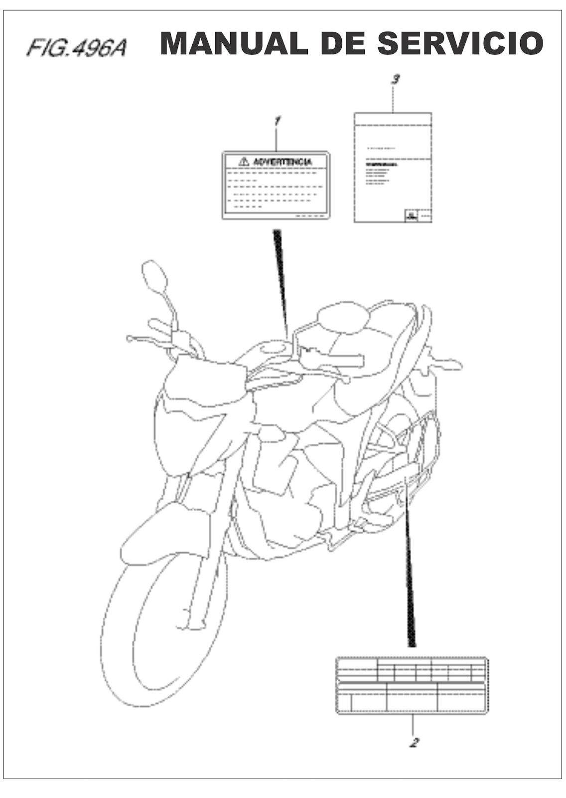 Suzuki Gixxer 150 manual de servicio (manual de taller