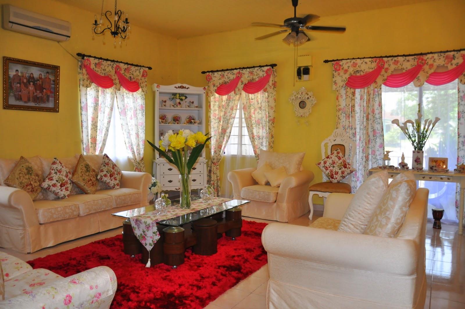 Hiasan Ruang Tamu Rumah Teres 2 Tingkat 5 Modern Home Revolution