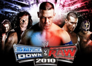 WWE Smackdown Vs Raw 2010 PPSSPP Android Iso Cso Ukuran Kecil