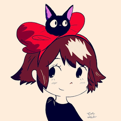 Ghibli Blog: Artist Spotlight - Kiki and Jiji
