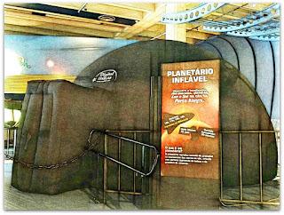 Planetário Inflável - Museu de Ciência e Tecnologia da PUCRS