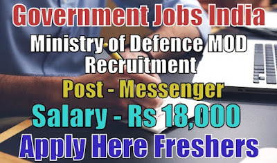 Ministry of Defence Recruitment 2018