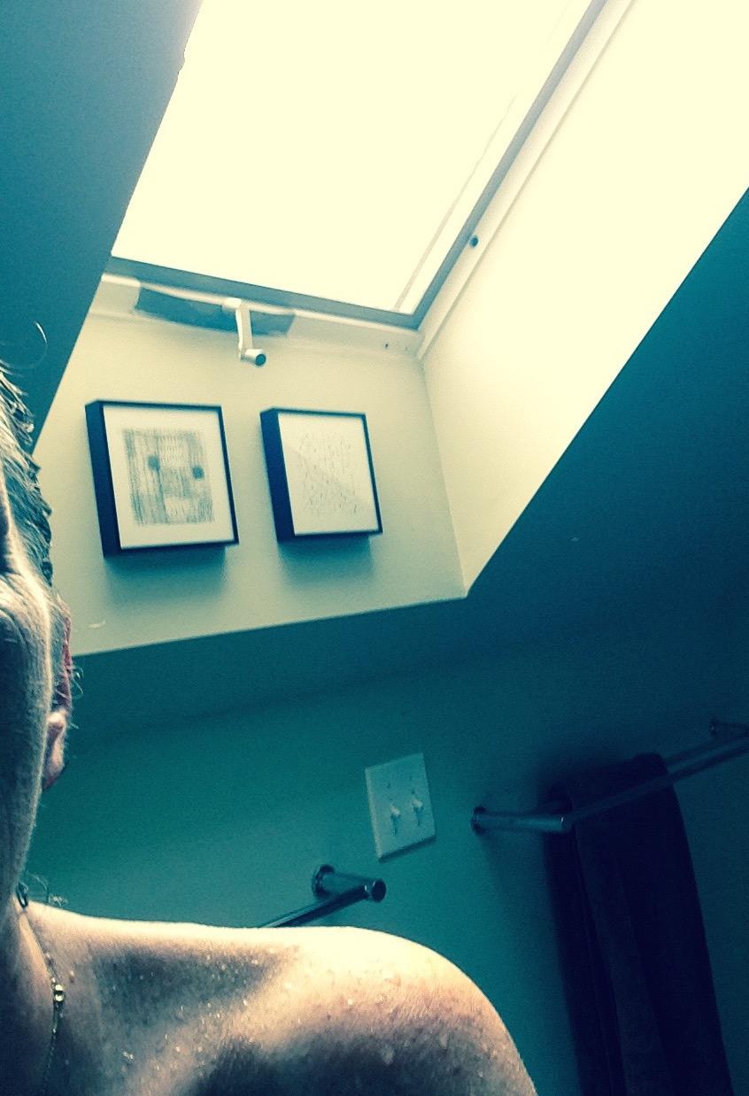 Nude Selfie In Bathroom