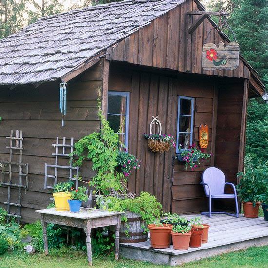 100 лучших идей: дачный домик своими руками на фото - Рататум 48