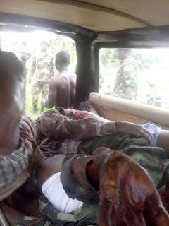Graphic: Nigerian Army releases pictures to backup claim of 11 killed soldiers in Niger State
