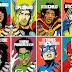 Crossover Artistas da Música e Quadrinhos por Butcher Billy | Imagens