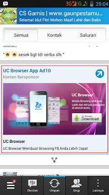 Cara Menghilangkan Iklan di BBM Android dengan Mudah