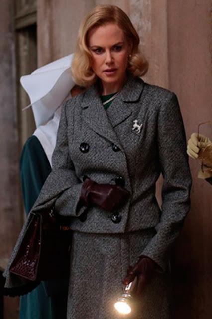 Grace Kelly (Nicole Kidman), figurino, filme Grace de Monaco