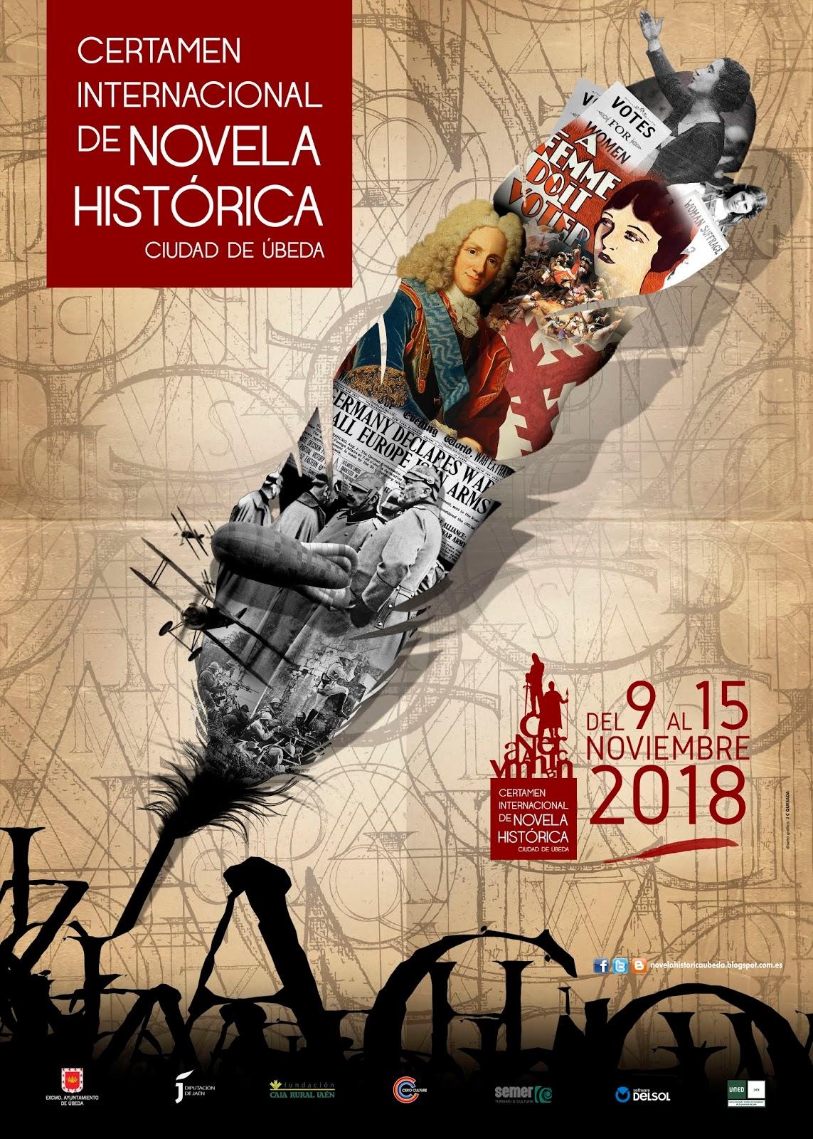 """VII Certamen de Novela Histórica """"Ciudad de Úbeda"""""""