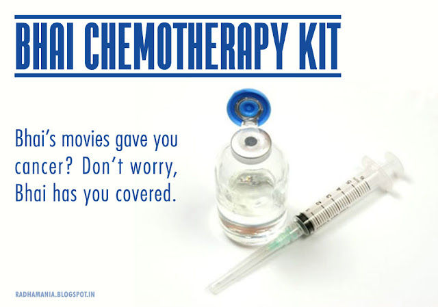Salman Khan Bhai Chemotherapy Kit
