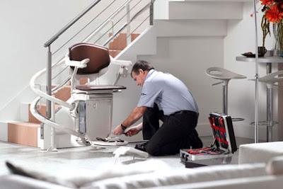 entretien fauteuil monte escalier