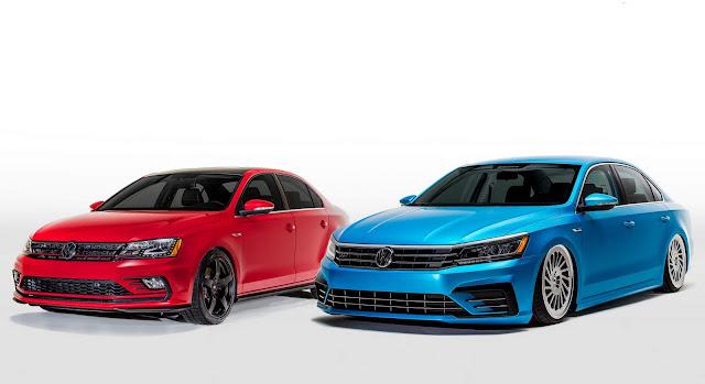 VW Jetta e VW Passat 2016